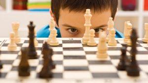 Niño-ajedrez