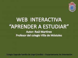 Web Aprender a estudiar